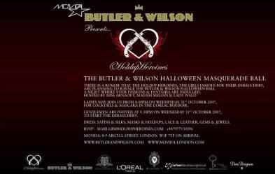 Butler & Wilson Halloween