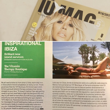 TVT Boutique in Ushuaïa Magazine